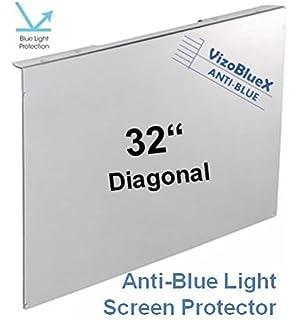 32 Pulgadas VizoBlueX Anti Luz Azul Monitor/TV Protector de Pantalla y Panel de protección