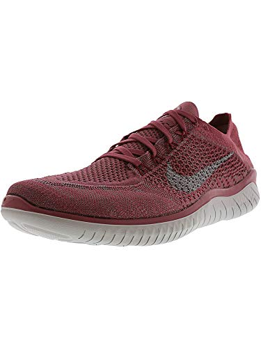 Nike Men s Free Rn Flyknit 2018 Vintage Wine Wolf Grey Ankle-High Running  Shoe - 12M c472923d36