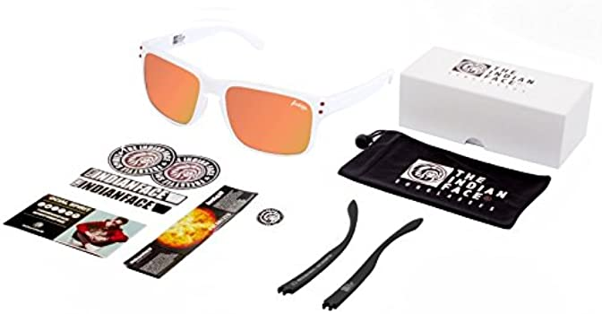 The Indian Face 24-006-10 Gafas de Sol, White, 55 Unisex ...