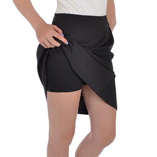 adidas adipure womens knee length golf skort black 8. Black Bedroom Furniture Sets. Home Design Ideas