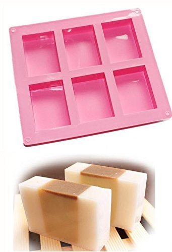 Generic DIY Handmade Soap Molds Rose Decoration Heart Craft Mold Art Silicone