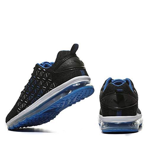 Ginnastica VITIKE Casual Scarpe 2 blu Sneakers Basse all'Aperto Interior Running Fitness da Donna Air Uomo Sportive Corsa pqqXFwUR