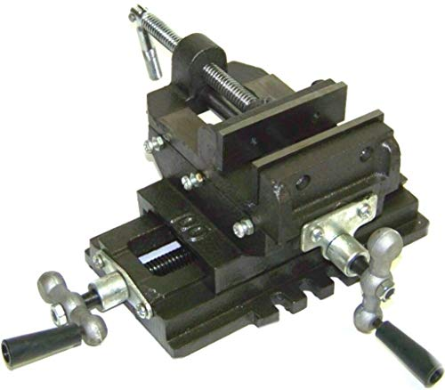 [해외]3 Cross Slide Vise Drill Press Heavy Duty Metal Milling 2 Way X-Y Clamp Vice / 3 Cross Slide Vise Drill Press Heavy Duty Metal Milling 2 Way X-Y Clamp Vice