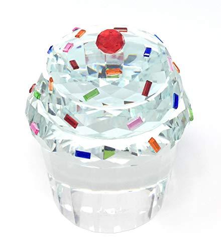 Simon Designs Crystal Jumbo Cupcake