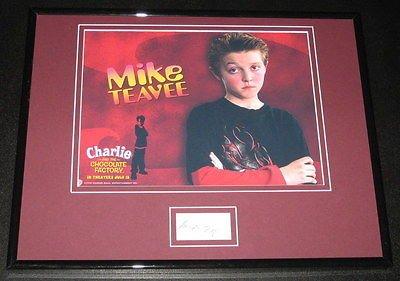 Jordan Fry Signed Framed 11x14 Photo Display Charlie & Chocolate Factory