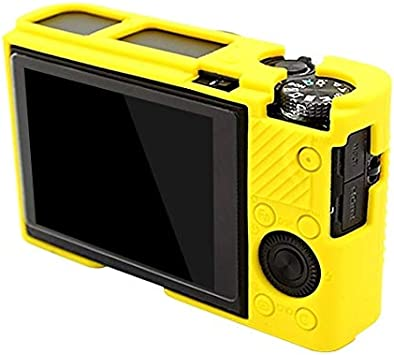 YANTAIANJANE Camera Accessories Soft Silicone Protective Case for Sony RX100 III//IV//V Color : Yellow Camouflage