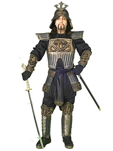 Forum Novelties Men's Samurai Warrior Costume, Multicolor, Standard -