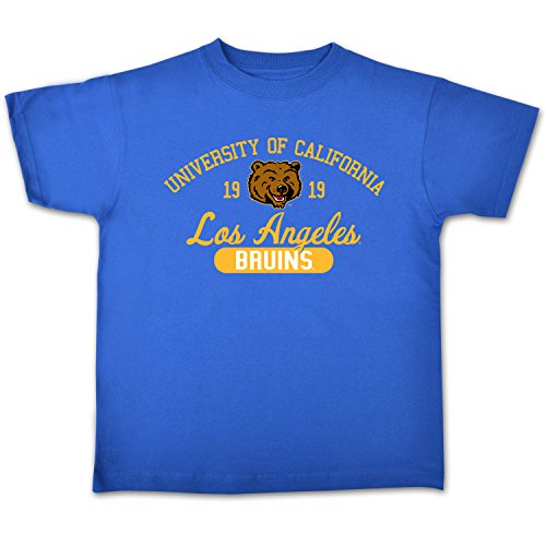 NCAA Ucla Bruins College Kids Youth Short Sleeve Tee, 7/X-Small, Royal