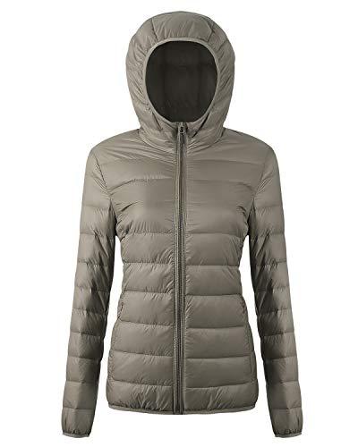 d2bdfcd3e43 CIOR Women s Packable Down Jacket Ultra Light Weight Coat with Travel Bag