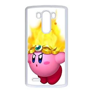 Kirby LG G3 Cell Phone Case White Xqzrk