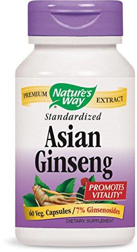 Natures Way Standardized Asian Ginseng 60 ea