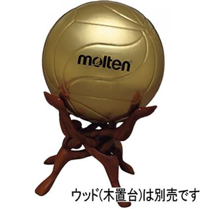 MOLTEN - Balón de Voleibol Balón de fútbol Firmado, Oro, 5: Amazon ...