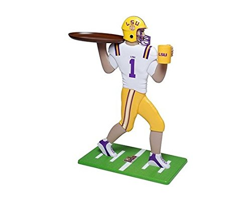 - Marketing Results LTD My Wingman Louisiana State University Football Player Accent Table LSU