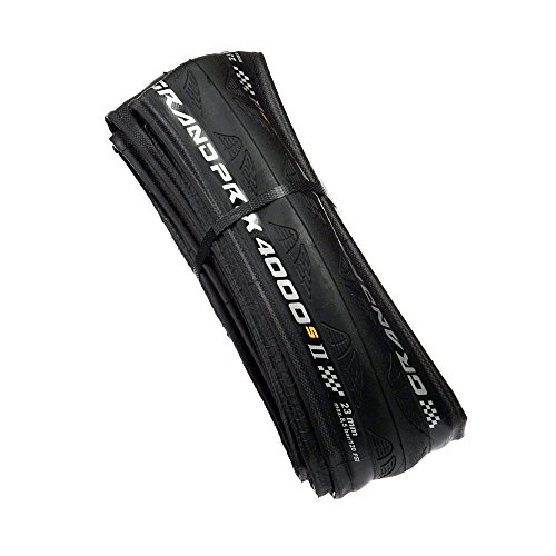 Continental Grand Prix 4000 S II Tire 650x23 Black Folding Bead and Black Chili