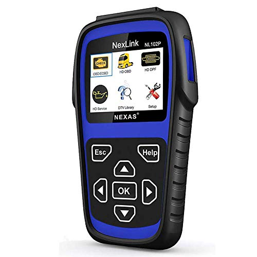 AUTOPHIX Heavy Duty Truck Scan Tool Auto Scanner with DPF/Sensor Calibration/Oil Reset + Check Engine for Cars Truck & Car 2 in 1 Code Reader[Upgrade Version]