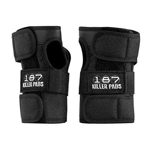 187 Killer Pads Wrist Guards (Black, Junior) ()
