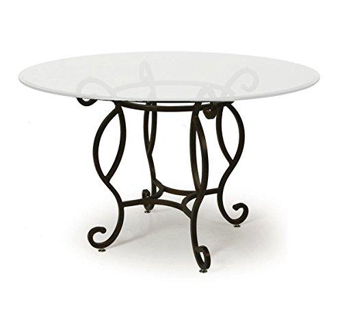 Atrium Elegant Dining Table Base in Autumn Rust - Pastel Atrium
