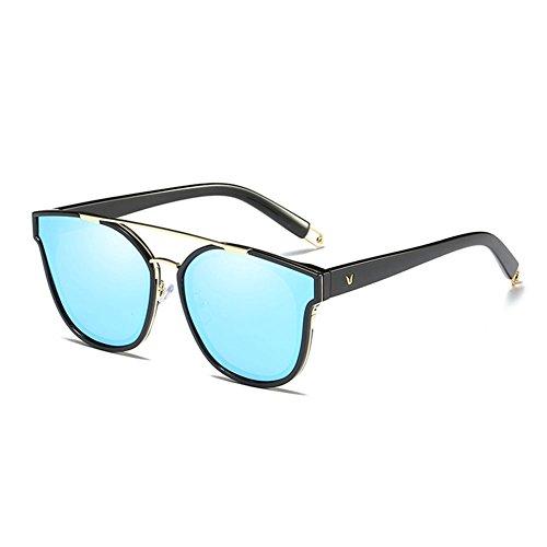 Conductor Femeninas de de Gafas polarizadas 2 DT Color Gafas Sol del Sol 1 Gafas cuadradas Redondas vw8HnqCx