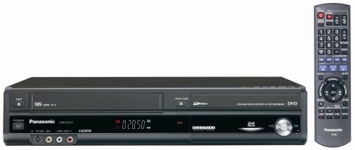 Panasonic DMR-EZ47V Up-Converting 1080p DVD-Recorder/VCR Combo with Built In Tuner (2005 Model) (Atsc Digital Vcr)