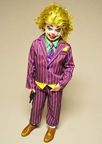 Magic Box Disfraz de Villano Morado de The Joker Style Large (10 ...