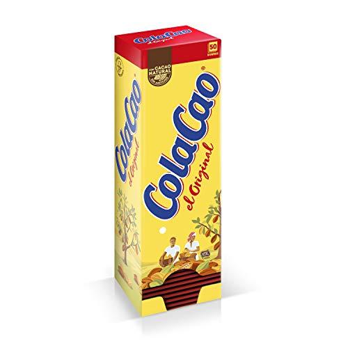 """ColaCao Original: con Cacao Natural – 50 sobres de 18g """"faro"""""""