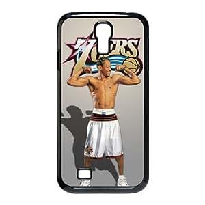 NBA Star 76 ers Team Defender Allen Iverson Samsung Galaxy S4 I9500 Best Fashion Hard Cover Case