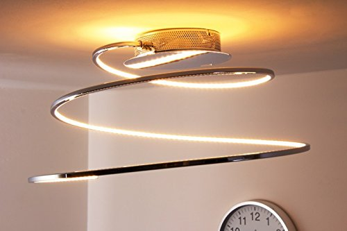 Spiral Modern Led Ceiling Light Ringos Energy Class A Buy Online In Uae Lighting Products