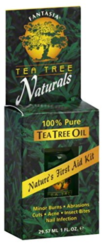 Fantasia Tea Tree Naturals 100 Pure Tea Tree Oil, 1 oz Pack of 3