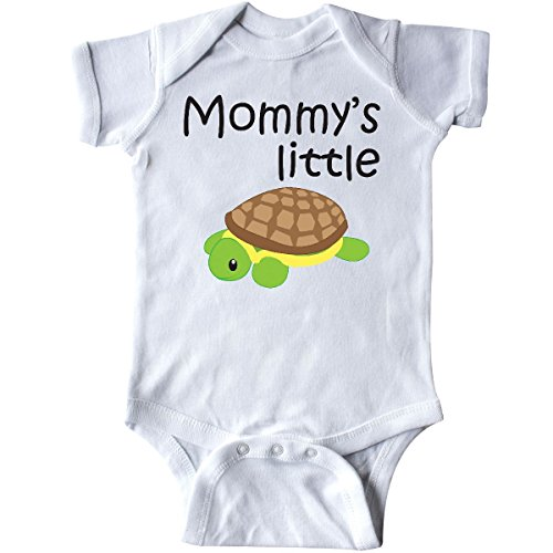 inktastic - Mommy's Little Turtle Infant Creeper Newborn