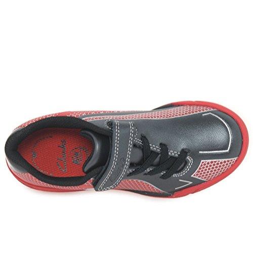 Clarks Zapatillas Para Niño Rojo Red