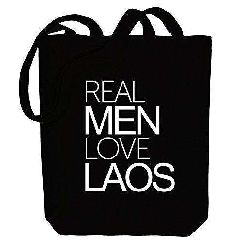 Idakoos Real men love Laos - Länder - Bereich für Taschen MifNDBJTCl