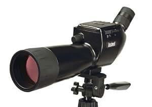Bushnell 111545 ImageView - Telescopio digital (5 megapíxeles, 15-45x, objetivo de 70 mm, pantalla LCD de 2,5 pulgadas), color negro