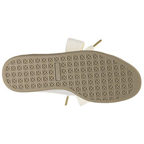 Puma Basket Heart Patent Wn's, Zapatillas para Mujer, Negro Natural