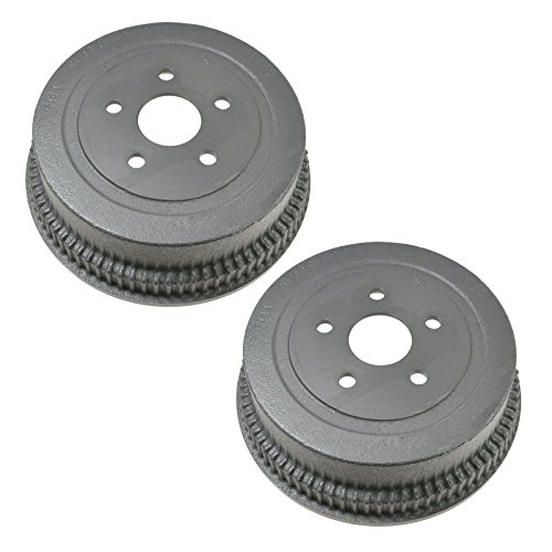 Front Brake Drum Pair for Ford Mercury 10 Inch