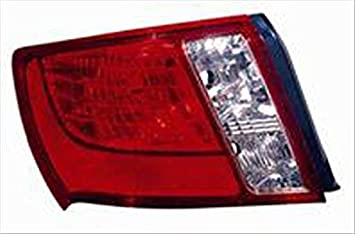 Partslink Number SU2818101 OE Replacement Subaru Impreza Left Tail Lamp Lens//Housing