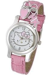 Hello Kitty Women's HK1747 Analogue Pink Strap Watch