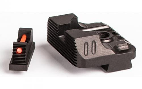 - Zev ZT-SIGHT-215-FO-COM3-B Sight Set .215 for Front Combat Rear Gun Stock Accessories