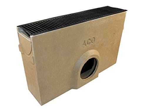 ACO RainDrain Sump Unit with Cast Iron Grating and Silt Bucket