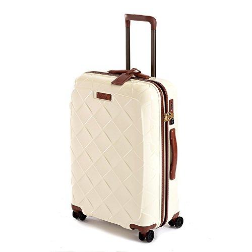 ストラティック レザー&モア Mサイズ 【62cm】| スーツケース | 3-9902-65 ミルク (旅行用品) B01M7YV9RY