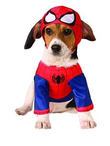 Rubie's Marvel Universe Spider-Man Pet Costume, (Captain Marvel Costume Pattern)