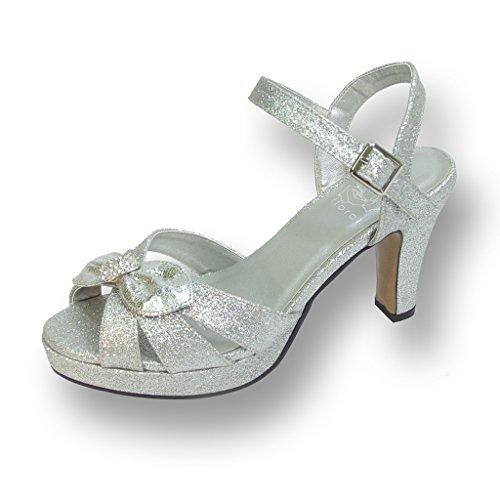 FLORAL Platform Sandal Measurement Available product image
