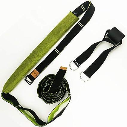 Amazon.com : QUBABOBO Slimming Yoga Straps Yoga Belts Home ...