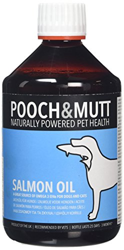 Pooch and Mutt Salmon Oil for Dogs and Cats 500 ml