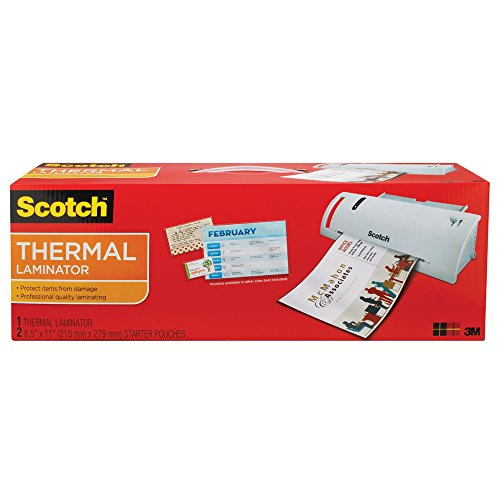 Scotch Thermal Laminator 14.75 x 4.75 x 3.75 Inches (TL902A) (Scotch 3m Thermal Laminator compare prices)