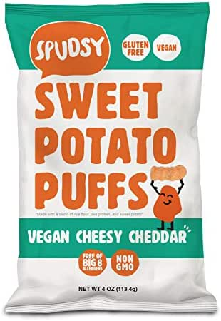 Veggie & Grain Chips: Spudsy Sweet Potato Puffs