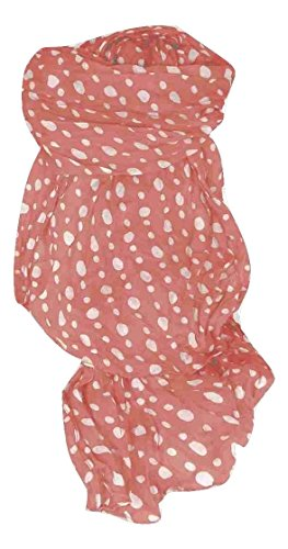 White Spot Silk Scarf (Simply Polka Dot