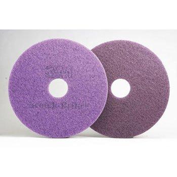 Scotch-Brite Diamond Floor Pads. 17-Inch, Purple - 5 pads per case. by Scotch-Brite