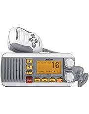 Uniden UM435 25-Watt Ipx8 Submersible Fixed Mount VHF Radio, White