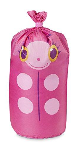 Melissa & Doug Sunny Patch Trixie Ladybug Sleeping Bag With Matching Storage Bag