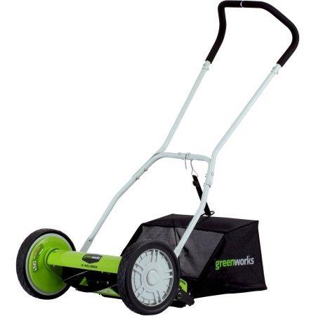 Greenworks 5-Blade 16'' Reel Mower by Greenworks